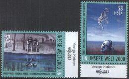 UNO WIEN 2000 Mi-Nr. 307/08 ** MNH - Ungebraucht