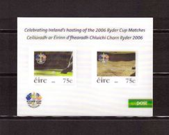 IRELAND/EIRE - 2006 Ryder Cup CELEBRATING IRELAND'S HOSTING RYDER CUP MNH - 1949-... Republic Of Ireland