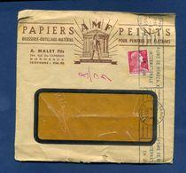 Enveloppe Papiers Peints AMF Malet Bordeauxcachet Bordeaux  Timbre YT 1011    Classeur 1er Jour 6 - 1921-1960: Periodo Moderno