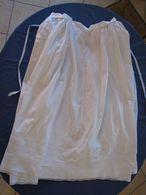 36 - Jupon  Brodé En Coton Ou Lin Monogrammé MB - Vintage Clothes & Linen