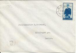 Norway FDC 2-8-1952 King Haakon VII 80th Birthday 55 öre Blue - FDC