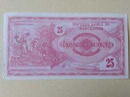 25  Dinari 1992 - Macédoine