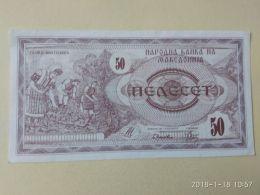 50  Dinari 1992 - Macedonia