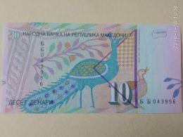 10 Dinari 2011 - Macedonia