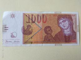 1000 Dinari 1996 - Macedonia