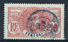 Senegal (French Colony), Général Faidherbe, 10c., 1906, VFU - Usati