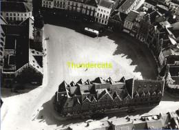 ORIGINELE FOTO LUCHTOPNAME 1950's PONCIN ** DENDERMONDE GROTE MARKT ** PHOTO ORIGINALE 1950's VUE AERIENNE  PONCIN - Orte