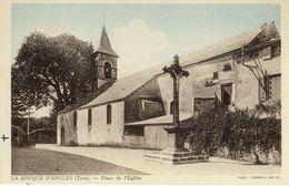 LA  SOUQUE-D'ANGLES (Tarn) -- PLACE  DE  L'EGLISE - France