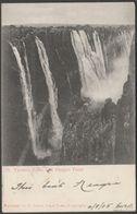 Danger Point, Victoria Falls, Rhodesia, 1905 - Peters Postcard - Zimbabwe