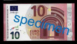 "Test Note ""JEGRO, Logo 7"" Billet Scolaire, Paper, 10 EURO, Training, Ca. 100 X 54 Mm, RRR, UNC - EURO"