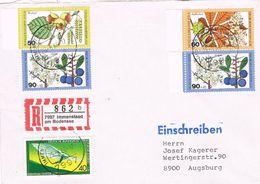 27148. Carta Certificada  IMMENSTAAD Am BODENSEE (Alemania Federal) 1986 - [7] República Federal
