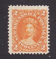 New Brunswick, Scott #7, Mint No Gum, Victoria, Issued 1863 - New Brunswick