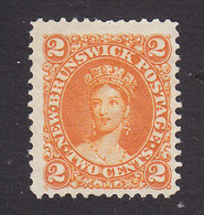 New Brunswick, Scott #7, Mint No Gum, Victoria, Issued 1863 - Unused Stamps