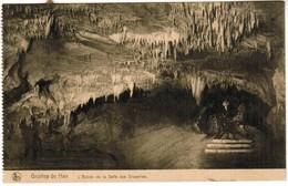 CPA Grottes De Han , L'entrée De La Salle Des Draperies (PK41476) - Rochefort