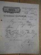 SEPEY (VAUD) 1928 - Constant GINIER - Armurier, Arquebuserie Fine De Précision - Suisse