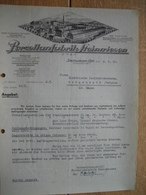 Brief 1936 STEINWIESEN-OBFR. - PORZELLANFABRIK STEINWIESEN - 1900 – 1949