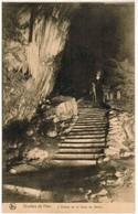 CPA Grottes De Han , L'entrée De La Salle Du Dôme (PK41479) - Rochefort