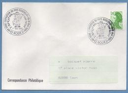 BT Bureau Temporaire Foire Expo Pays Rouergat Rodez 1986 / N° 2321 Roulette Liberté Voy TB - Marcophilie (Lettres)