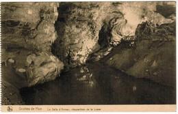 CPA Grottes De Han , La Salle D'armes, Réapparition De La Lesse (PK41482) - Rochefort