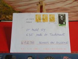 Timbres Sur Lettre > Enveloppe Reçu 2014 > Léon Zitrone 1915-1995 - Marcofilie (Brieven)