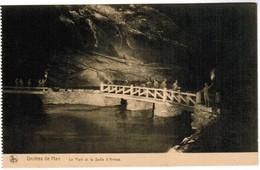 CPA Grottes De Han , Le Pont Et La Salle D'armes (PK41483) - Rochefort