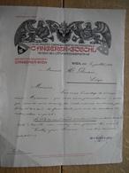 Brief 1910 - WIEN - C. ANGERER & GÖSCHL - Photochemigraphen - Hofkunstanstalt - Autriche