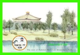 TOCKYO, JAPON - THE VIEW OF BUDOKAN HALL FROM KITANOMARU PARK - TOKYO 77 ICN - - Tokyo