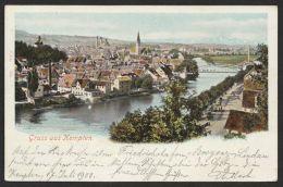 """""""Kempten"""", Farbige Karte, 1900 Gelaufen - Kempten"""