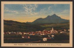 """""""Markt Wertach"""", Allgäu, Farbige Karte. Ca. 1920 - Germany"""