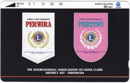 INDONESIA INDONESIEN  INDONESIE - IND P 310-P 311  Lion Club Surabaya -. MINT RRR - Indonesia