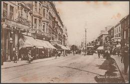 Queen Street, Cardiff, Glamorgan, 1917 - Philco Postcard - Glamorgan