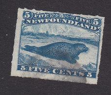 Newfoundland, Scott #40, Used, Harp Seal, Issued 1876 - 1865-1902