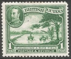 British Guiana. 1934-51 KGV. 1c MH. SG 228 - British Guiana (...-1966)