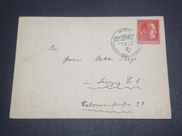 ALLEMAGNE - Enveloppe De Wien Pour Leipzig En 1938 , Affranchissement Et Oblitération Plaisants - L 12454 - Allemagne