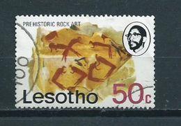 1976 Lesotho Prehistoric Rock Art Used/gebruikt/oblitere - Lesotho (1966-...)
