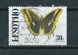 1991 Lesotho Vlinder,schmetterlinge,papillon Used/gebruikt/oblitere - Lesotho (1966-...)