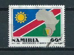 1990 Namibia Independence Used/gebruikt/oblitere - Namibië (1990- ...)
