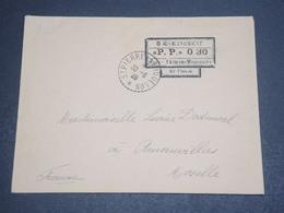 """SAINT PIERRE ET MIQUELON - Enveloppe En  """" PP 030 """"  En 1926 Pour La France Avec Cachet D'arrivée - L 12456 - Lettres & Documents"""