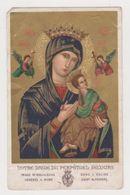 Image Pieuse Prière à Notre-Dame Du Perpétuel Secours - Image Miraculeuse Vénérée à Rome Eglise Saint-Alphonse 1924 - Religion & Esotérisme