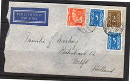 MIXED Franking Netherlands Indies + Indonesia Polomialaan Meester Cornelis (110) - Nederlands-Indië