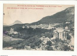 06 STATION ALPESTRE DE THORENC VUE GENERALE PRISE DE LA VILLA GEORGINA CPA BON ETAT - France
