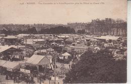 RENNES - Vue D'ensemble De La Foire Exposition Prise De L'Hôtel Du Cheval D'Or  PRIX FIXE - Rennes