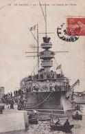 LE HAVRE / LA BOUVINE AU BASSIN DE L EURE / TRES JOLIE CARTE ELD 78 - Warships