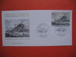 TAAF FDC Lettre Iles Kerguelen  Pour La France N° PA47  31/12/1976 - FDC