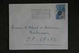 Lettre De FRANCE ( ANTIBES), Cat CERES : N°1521 - Marcophilie (Lettres)