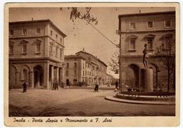 IMOLA - PORTA APPIA E MONUMENTO A F. AZZI - Vedi Retro - Imola