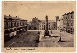 IMOLA - PIAZZA VITTORIO EMANUELE - 1943 - Vedi Retro - Imola