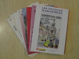 """LES FEUILLES MARCOPHILES : LOT DE 8 SUPPLÉMENT """" MARCOPHILEX """" - Filatelie En Postgeschiedenis"""