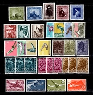 Liechtenstein Belle Collection Neufs ** MNH 1949/1960. Bonnes Valeurs. TB. A Saisir! - Verzamelingen