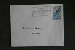Lettre De FRANCE ( OBJAT ), Cat CERES : N°1521 - Marcophilie (Lettres)